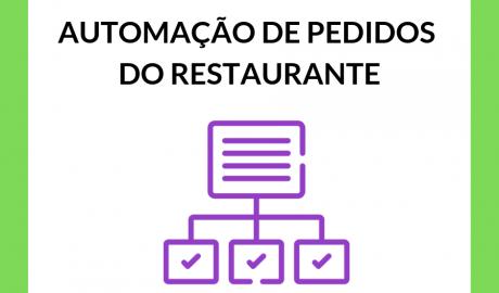 Como automatizar pedidos do meu restaurante?