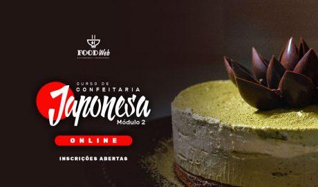 Curso Online de Confeitaria Japonesa Contemporânea Yogashi Módulo 02 – Chef Cesar Yukio