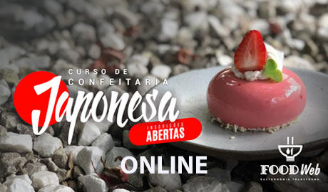 Curso Online de Confeitaria Japonesa Contemporânea Yogashi Módulo 01 – Chef Cesar Yukio