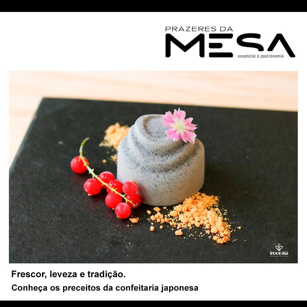 Frescor, leveza e tradição. Conheça os preceitos da confeitaria japonesa