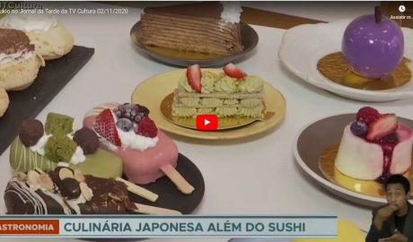 Curso de Confeitaria Japonesa no Jornal da Tarde da TV Cultura